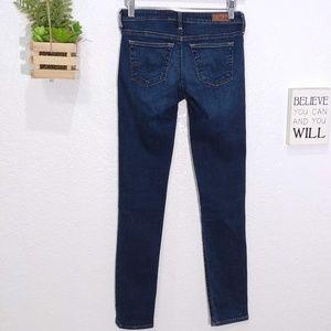 AG Stilt the Cigarette leg dark wash jeans  25R